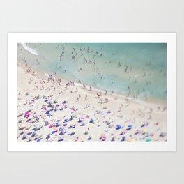 beach love IV Art Print