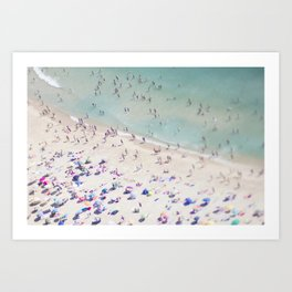 beach love IV Art Print