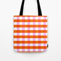 allyson johnson Tote Bags featuring Allyson by Anh-Valérie
