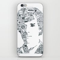 cumberbatch iPhone & iPod Skins featuring Benedict Cumberbatch by Ron Goswami