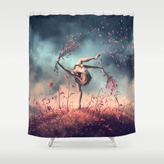 VIRGO from the Dancing Zodiac Shower Curtain