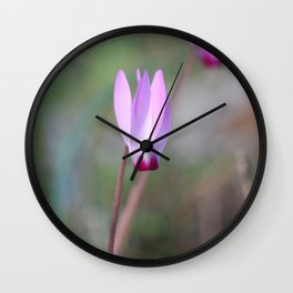 The Flaming Flower Wall Clock