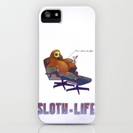 SLOTH LIFE fig. 1. iPhone Case