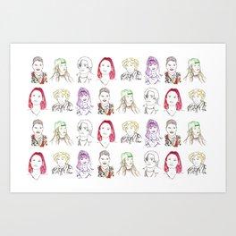 Cool Kids Art Print