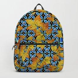 Autumn Leaves Heraldic Backpack