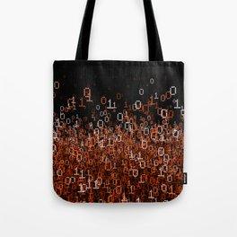 Binary Cloud II Tote Bag