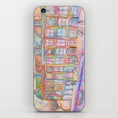 Wandering Amsterdam - Colored Pencil iPhone & iPod Skin