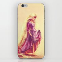 movie iPhone & iPod Skins featuring Gilded by Alice X. Zhang