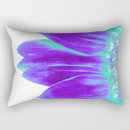 Sunflower Bright Violet & Mint Green Rectangular Pillow