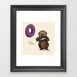 Animals & Instruments ABCs – O Framed Art Print