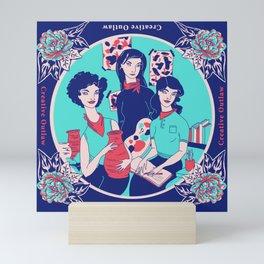 Women Artists (Creative Outlaws) Mini Art Print