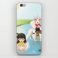 inuyasha iPhone & iPod Skins featuring Inuyasha:  Summer by Kerstie Milana