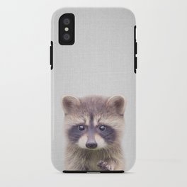 Raccoon - Colorful iPhone Case
