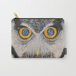 Dreaming of freedom - owl eyes Carry-All Pouch