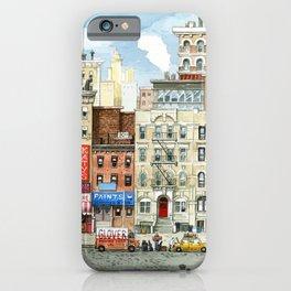 Physical Graffiti Building iPhone Case