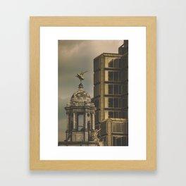 In love whit London II Framed Art Print