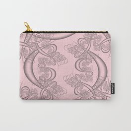 Blushing Bride Fractal Carry-All Pouch