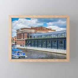 Recreation Pier Framed Mini Art Print