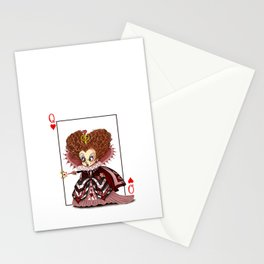Funny Red Queen Stationery Cards