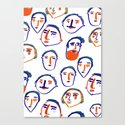 head, faces, face print, face art, people illustration, by ashleypercival