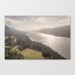 Cape Horn and Willamette Valley Canvas Print