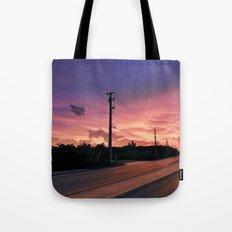 Miami Sunrise Tote Bag