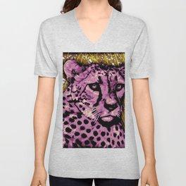 Cheetah Unisex V-Neck