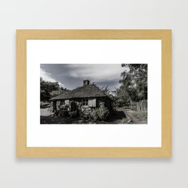 Old Cottage Framed Art Print