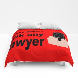 Crime Pays Comforters