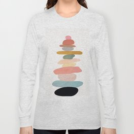 Balancing Stones 22 Long Sleeve T-shirt