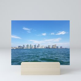 Downtown San Diego from the Bay Mini Art Print
