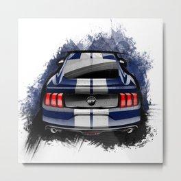 Ford Mustang GT Metal Print