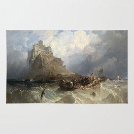 St Michael's Mount, 1830 Rug