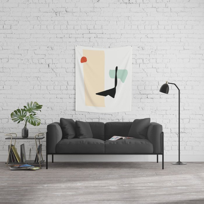 Matisse Shapes 3 Wall Tapestry