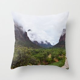 Zion 2 Throw Pillow