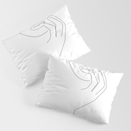 Touch The Lip Pillow Sham