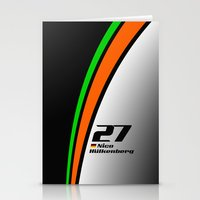 f1 Stationery Cards featuring F1 2015 - #27 Hulkenberg by MS80 Design