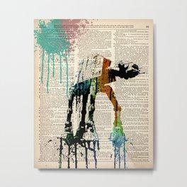 #WARS #WALKER 2 Metal Print