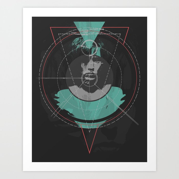 The Mark Art Print