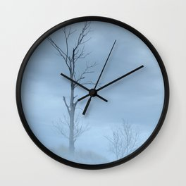 Barely Visible Wall Clock