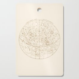 Visible Heavens - Gold Cutting Board
