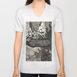 Looking for Angels Unisex V-Neck