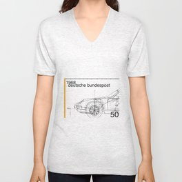 Germany stamp II Unisex V-Neck