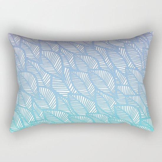Leaves in Winter Rectangular Pillow