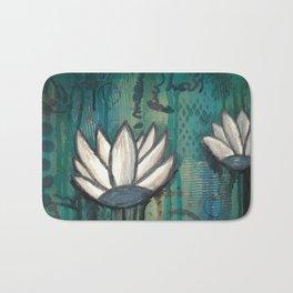 Lotus Flowers Bath Mat