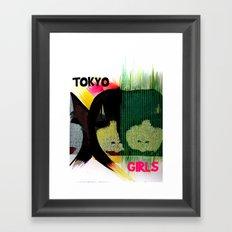 Tokyo Girls Framed Art Print