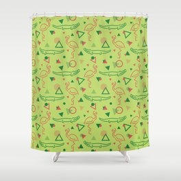 Miami Vibes Shower Curtain