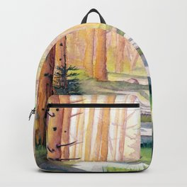 Down The Forest Path Backpack