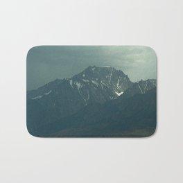 Stormy Mountains (Sierra Nevadas, California) Bath Mat