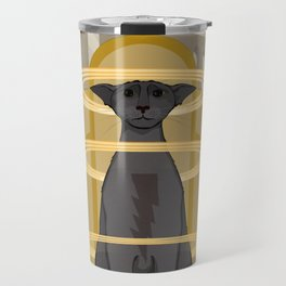 Elektrostatische Katze [Staticat] Travel Mug